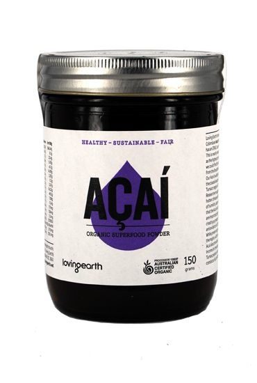 Acai loving earth raw powder Australia