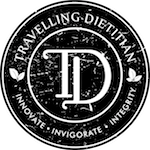 Travelling Dietitian logo