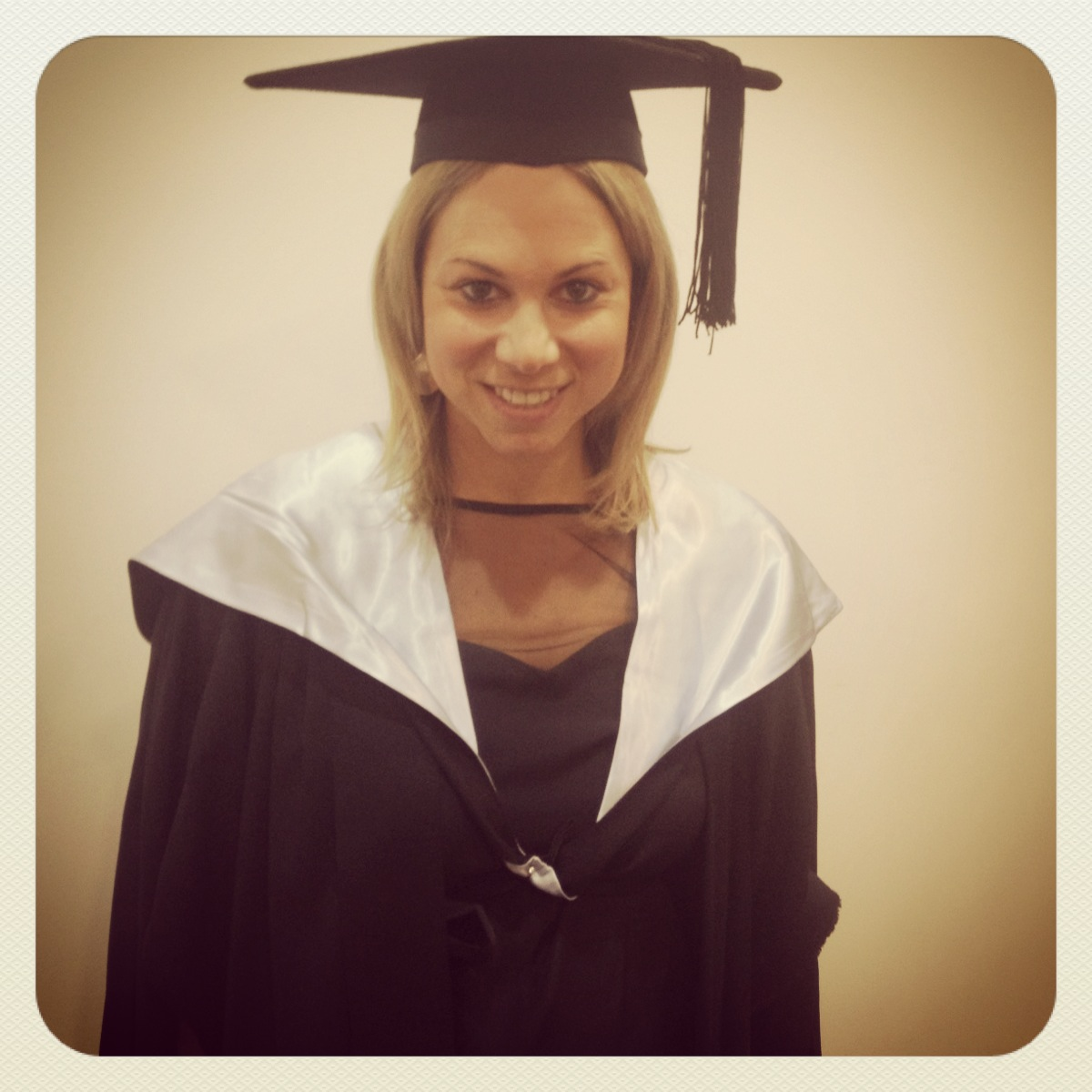 Graduating with my Masters in Entrepreneurship and Innovation after years of study!