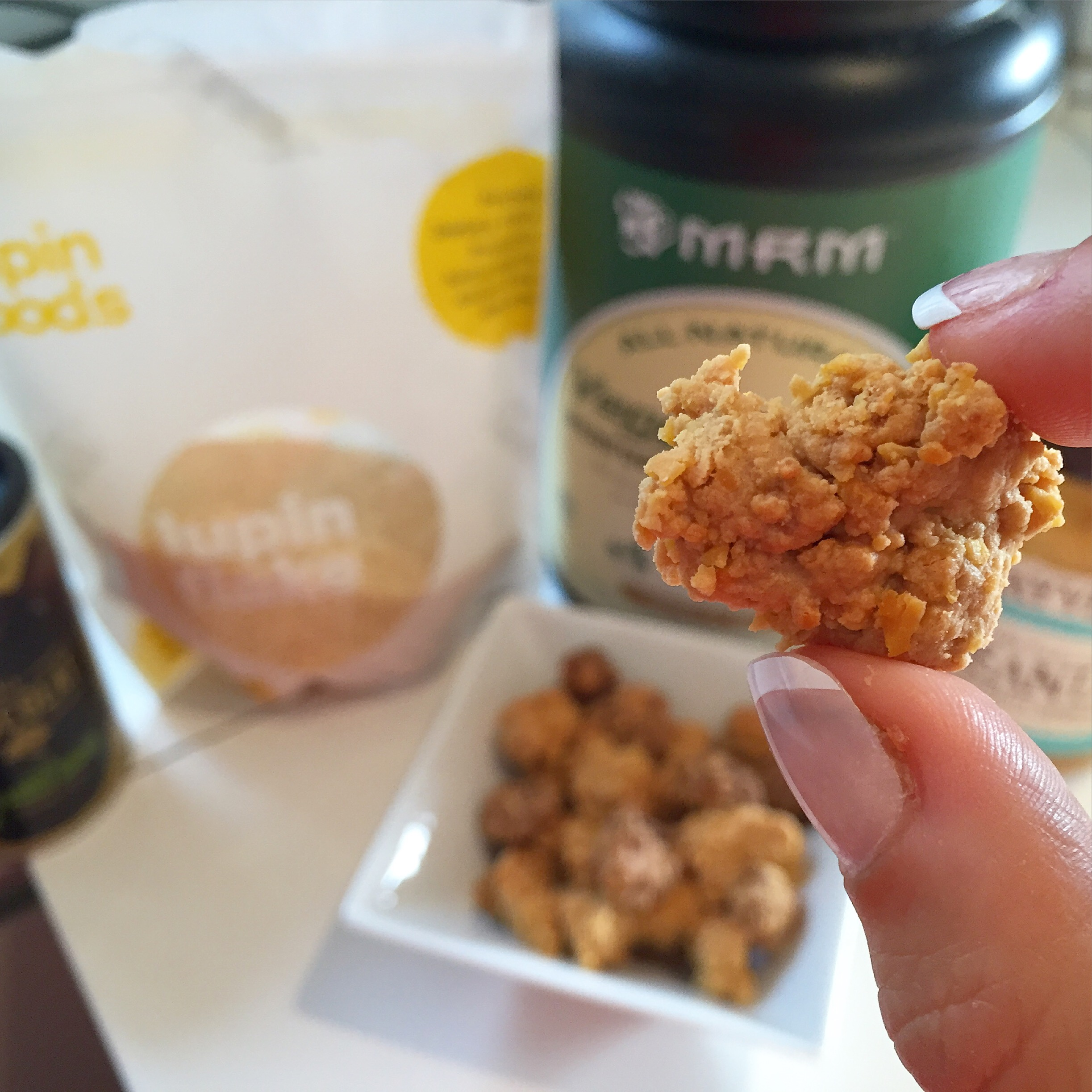 lupin flake protein cluster recipe