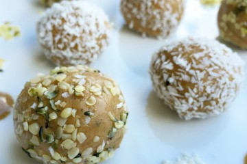 sugar free bliss ball
