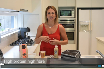 travelling dietitian recipe video kara landau