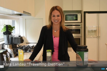 travelling dietitian kara landau natural sweeteners